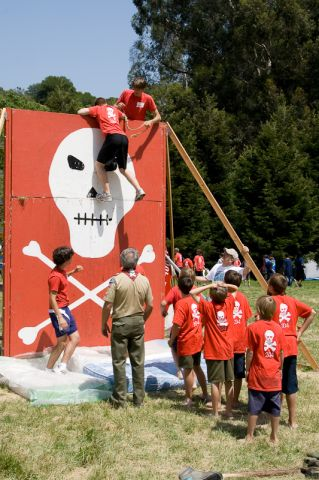 Camporee -  The Wall